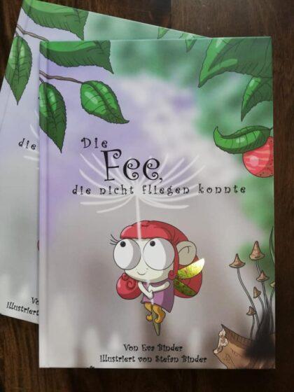 Die Fee, die nicht fliegen konnte, Stefan Binder, Eva Binder, Kinderbuch, Tay-Sachs, Palliativ