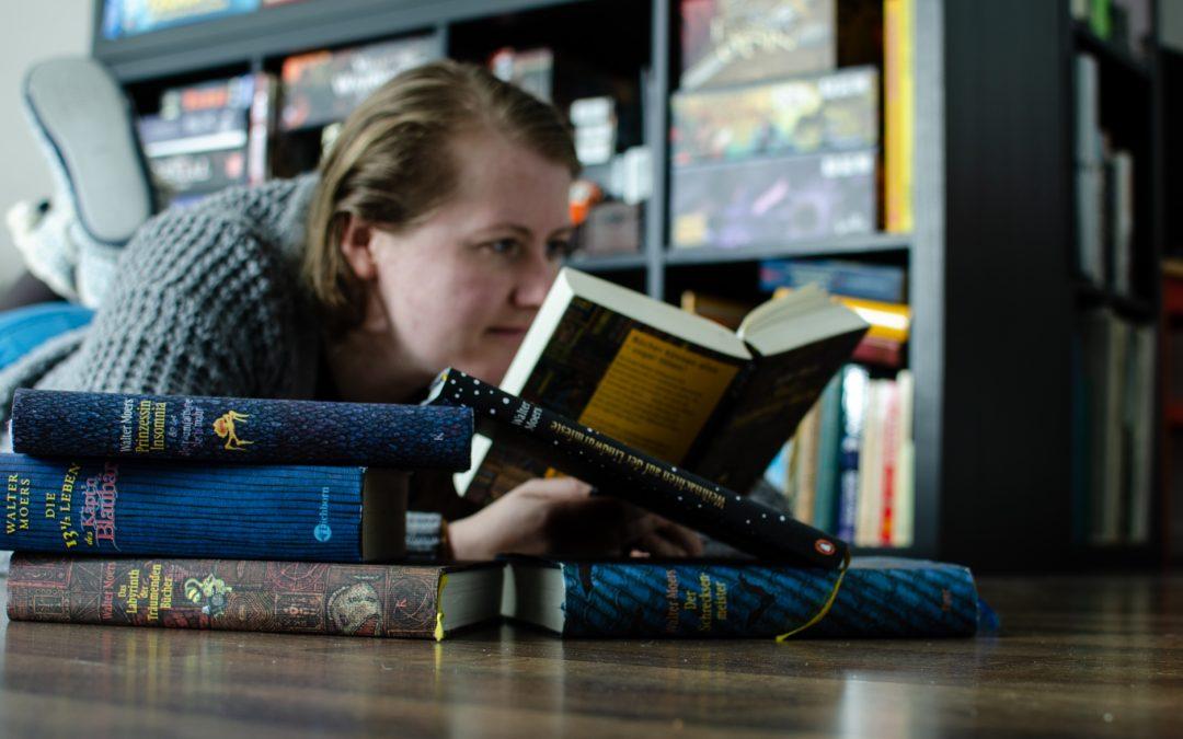 Walter Moers, Die Stadt der Träumenden Bücher, Bücherregal, Bücherträume