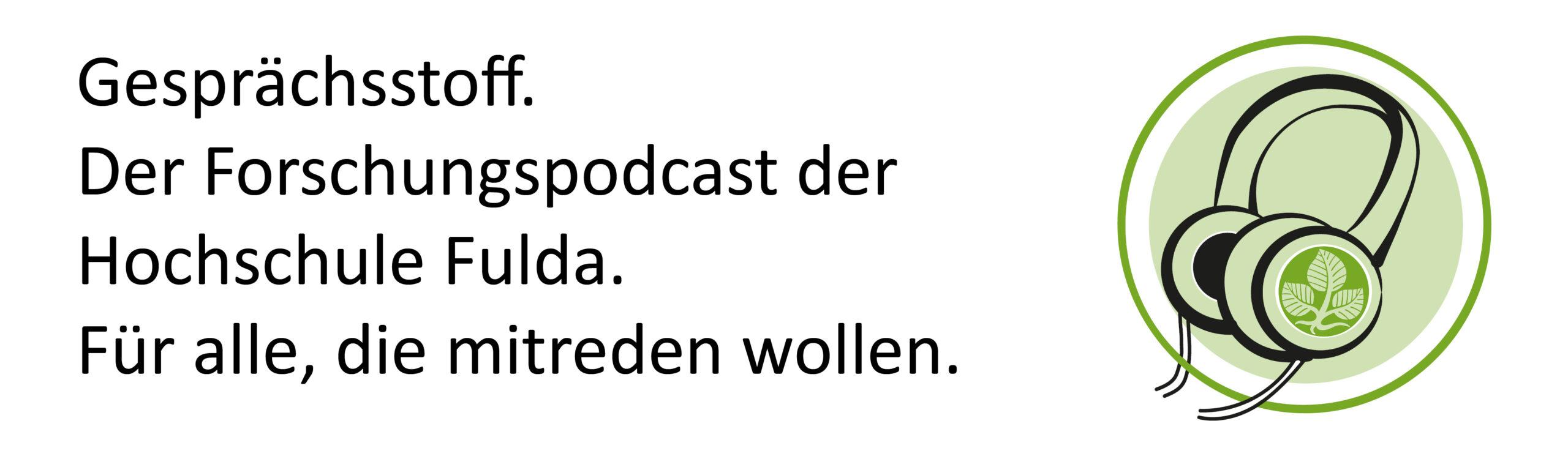 Das Logo des Podcasts Gesprächsstoff
